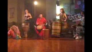 Club Wild African drum and dance performance
