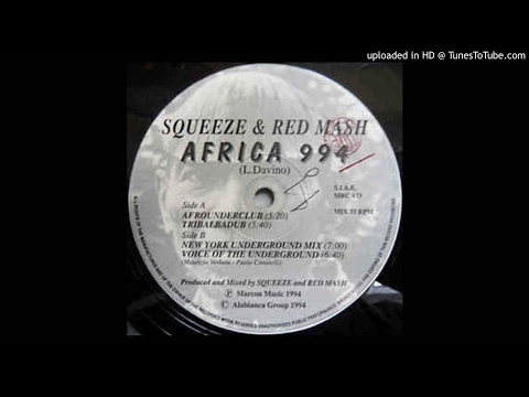 Squeeze & Red Mash - Africa 994 (Voice Of The Underground)
