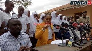 """DC Jokate """"Nitaweka watu ndani saa 48/ usilete janja njaja kwenye hii kampeni ya Tokomeza Ziro """""""