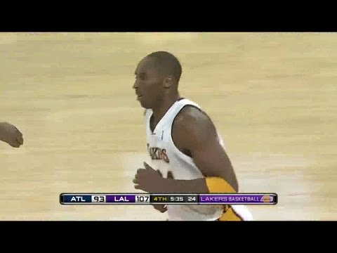 2009 11 01 Kobe Bryant Highlights at Hawks 41pts!