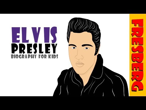 Do you know who the King of Rock N Roll is? It's Elvis Presley! (History for Kids)