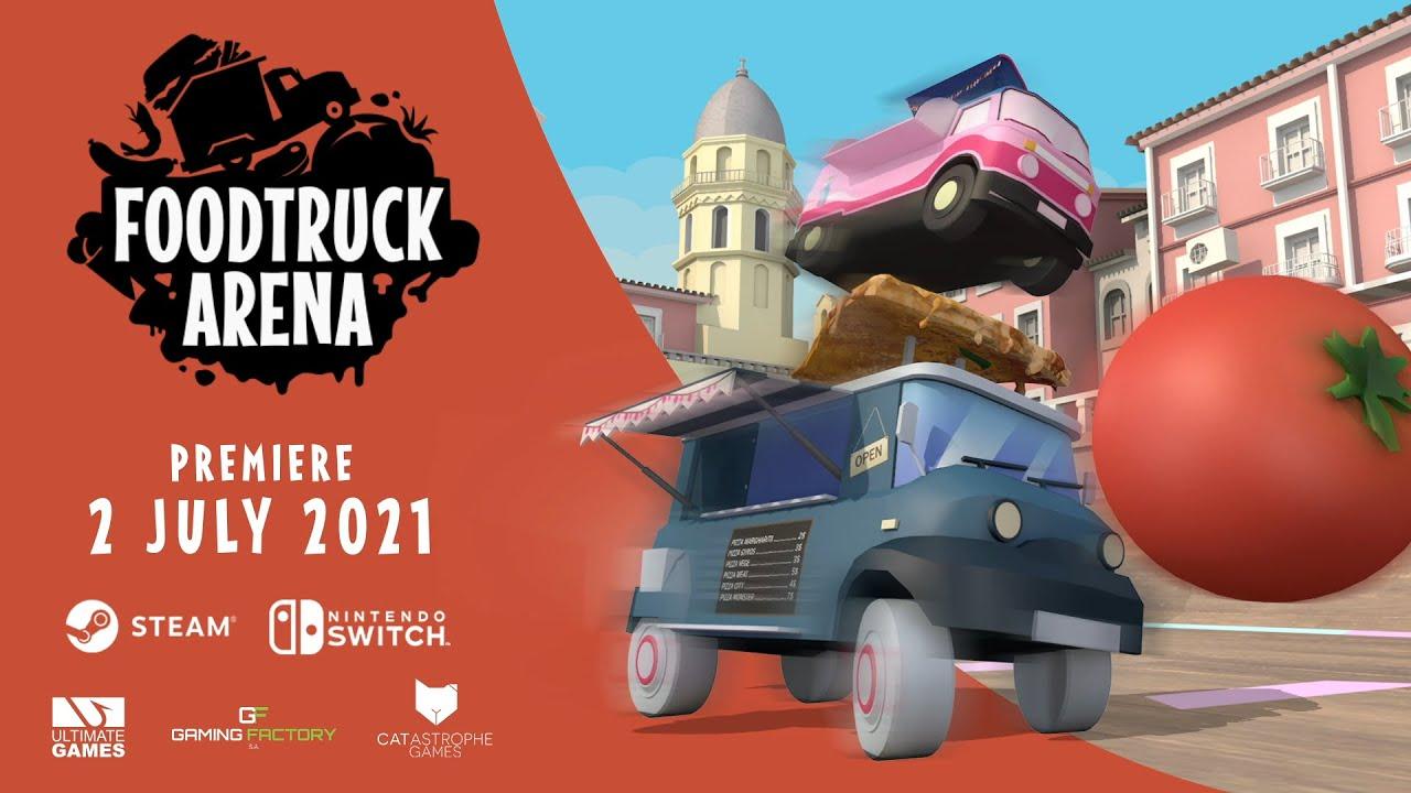 Foodtruck Arena - Release Date Trailer - YouTube