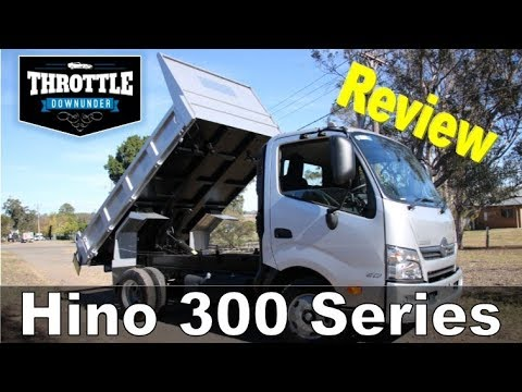 Hino 300 Series Truck Tipper Review