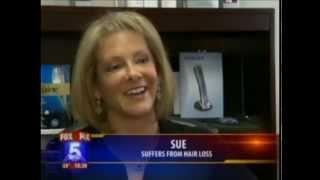 HairMax LaserComb featured as female hair loss treatment on FOX NEWS thumbnail