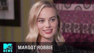 Margot Robbie on 'I, Tonya', A Harley Quinn Solo Film & Promoting Women In Film | MTV News