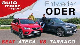 Seat Ateca vs Tarraco: Wer ist besser? - Entweder ODER | (Vergleich/Review) auto motor und sport