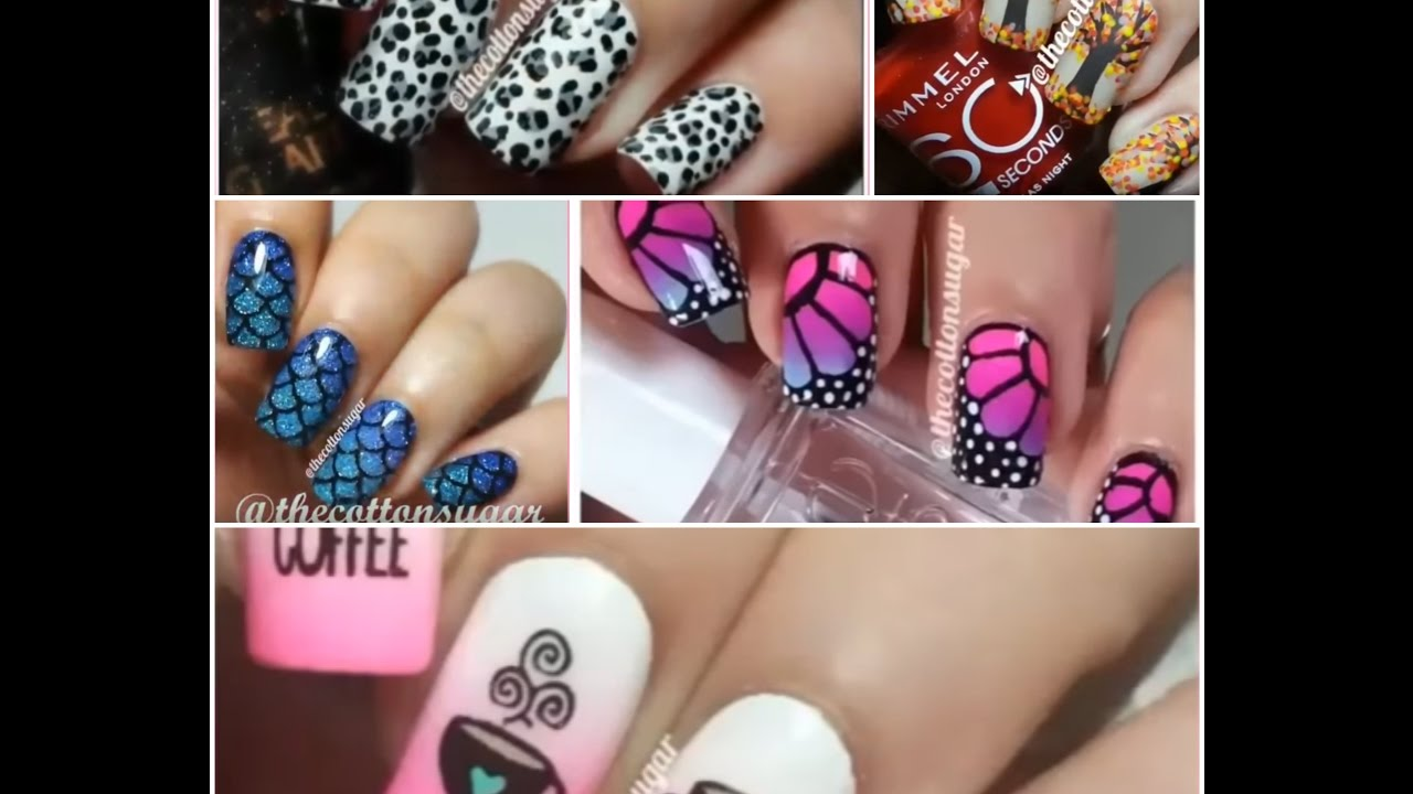 Nail Art Compilation December 2016 Christmas 2017 Easy Designes GBBlove