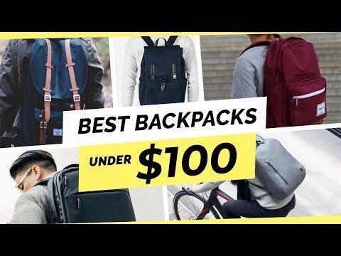 5 Best Men's Backpacks Under $100