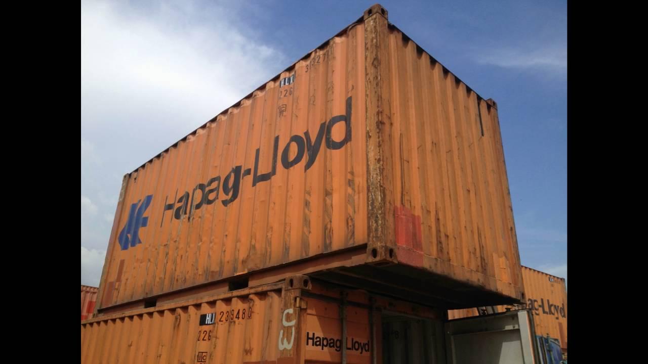 Продам контейнер 40 футов под зерно, Одесса. Open Top - YouTube