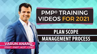 Gambar cover PMP training videos-PMP 6th edition training videos-Plan Scope Management (2019) - Video 2