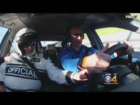 Peyton Manning Drives Pace Car At Daytona 500