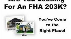 FHA 203K Maine