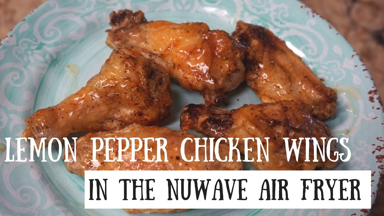 How to cook chicken wings in a nuwave air fryer