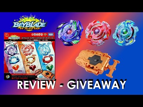 Beyblade Burst ベイブレードバースト B-64 Ultra Reshuffle Set Heavy Version Unboxing Review Exp Dec 28th