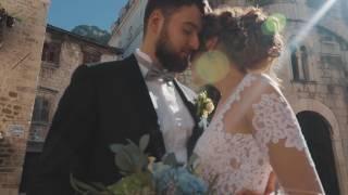 Андрей и Наталия, свадьба в Черногории