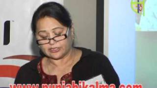Sunita Dhir - Role of women in Punjabi Theatre Part 2