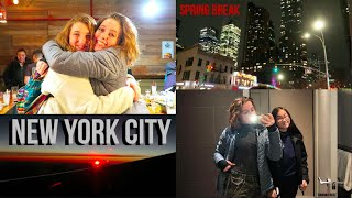 NEW YORK SPRING BREAK 2019 WITH FRIENDS | Hannah Rose