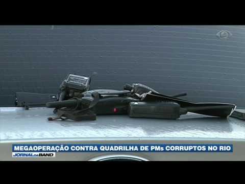 RJ: Megaoperação prende 56 policiais corruptos