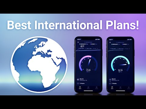 Best International Cell Phone Plans!