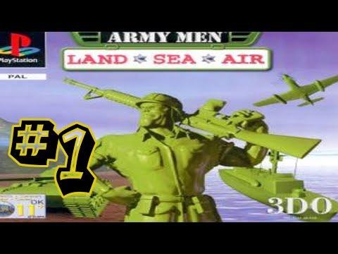 Army Men Land, Sea & Air #1 - Operation Tiger