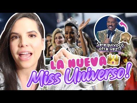 REACCIONANDO al MISS UNIVERSO con una REINA DE BELLEZA 😱💎 | Camila Guiribitey