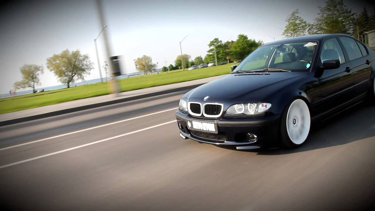 Stanced Bmw E46 Youtube