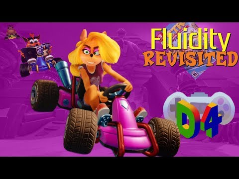 Crash Team Racing: Nitro-Fueled's Twilight Tour -- Designing For Fluidity Revisted