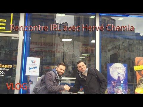 [VLOG] Rencontre IRL avec Hervé Chemla Magasin Jeux Vidéos sur Paris !!