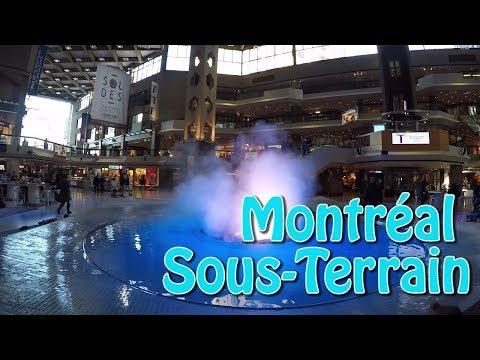 Vivre Au Canada : Montréal Sous-terrain