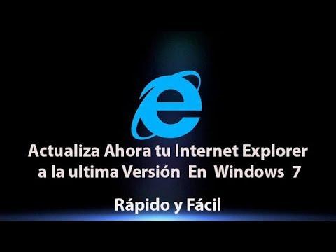 2019 !! Como Actualizar FACILMENTE Internet Explorer - Rápido Y Fácil