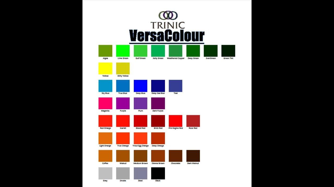 Wide Load Sign >> Trinic VersaColour Concrete Color - YouTube