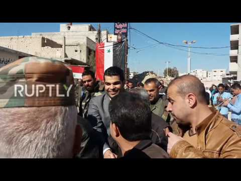 Syria: Displaced civilians begin returning home to al-Ziabiyeh, Damascus