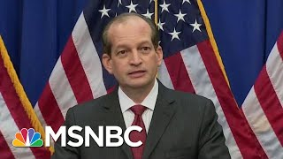 Secretary Acosta Refuses To Apologize For Epstein Plea Deal | The Last Word | MSNBC