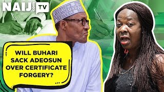 What Should President Buhari do to Adeosun Over Alleged Certificate Forgery? | Legit TV