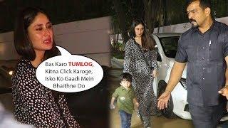 Kareena Kapoor Khan's ANGRY Reaction On Media For STALKING Taimur Ali Khan