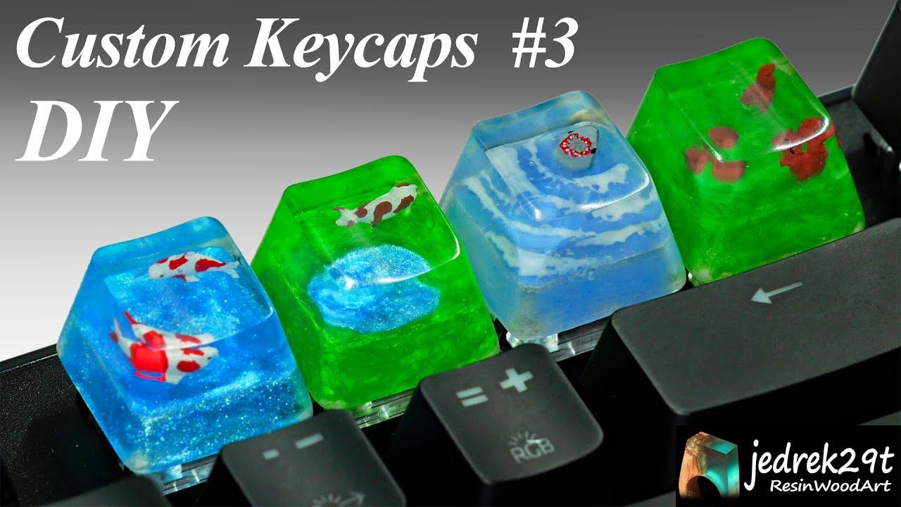 Arrow Cute Keycaps Resin ESC Key Artisan Paw Custom Set