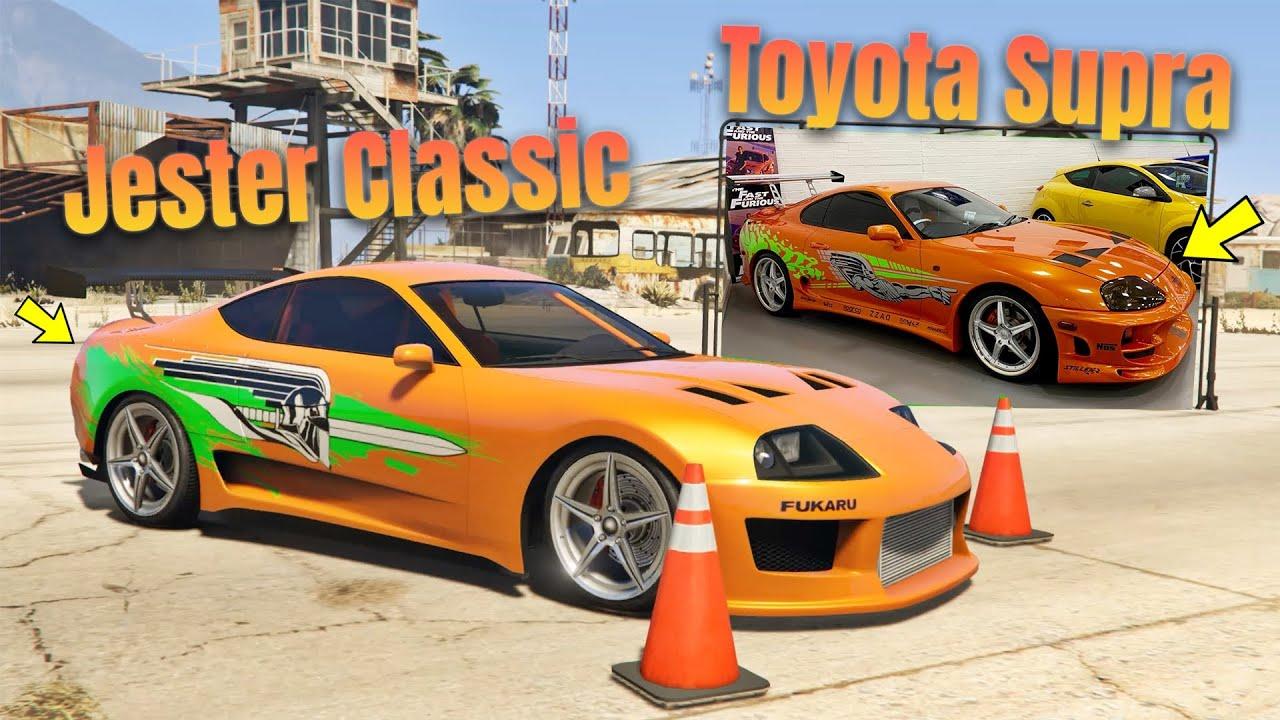 GTA 5 Online: FAST AND FURIOUS CARS VS GTA 5 ONLINE CARS | Real life cars vs GTA 5 cars