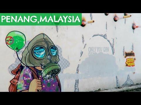 STREET ART IN MALAYSIA & EASY VEGAN EATS
