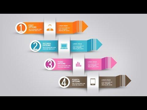 Photoshop Tutorial Graphic Design Modern Business Arrow