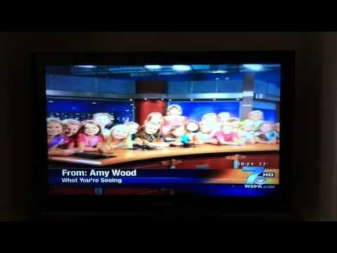 Girl Scouts Troop 3242 visit WSPA TV