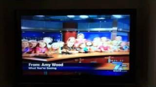 Girl Scouts Troop 3242 visit WSPA TV