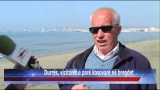 15 03 2015   Durrës, Vizitorët E Parë Kosovarë Në Bregdet