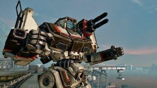 THE GIANT MECH ROBOT BATTLE in Cool MMO Mechwarrior Online