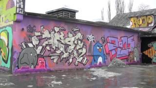 Balade au Luxembourg, le 10 : graf, graffiti dans les anciens abattoirs d'Hollerich  Mars 2013