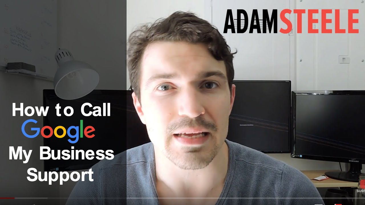 How to Call Google My Business Support
