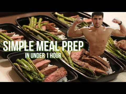 Simple Meal Prep For Him and Her! Delicious Pan-Seared Steak Meals