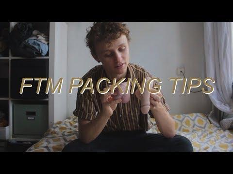 FTM transgender cheap packing tips