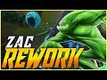 VOLTARAM COM A ULT ANTIGA DO ZAC - AGORA TA PERFEITO O KIT DE HABILIDADES - League of Legends - Fiv5
