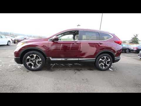 2018 Honda CR-V Touring | Basque Red Pearl II | JH615265 | Seattle | Sumner |