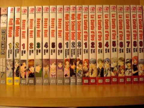 My Manga Collection ~ December 2011